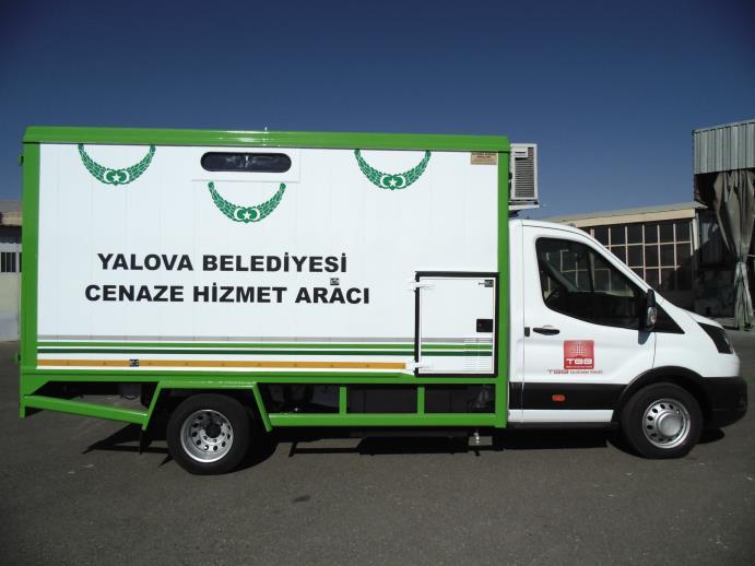 Şırnak ve Yalova Belediyelerinin Cenaze Hizmet Araçları