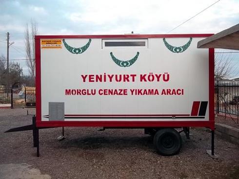 GOLD RÖMORK TİPİ CENAZE YIKAMA ARACI 16