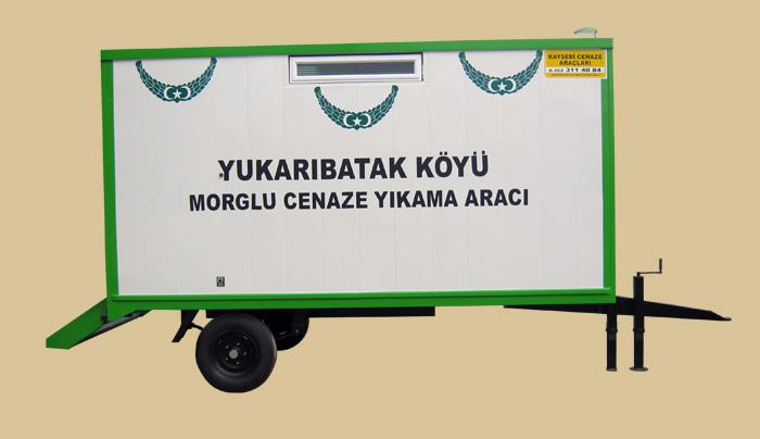 GOLD RÖMORK TİPİ CENAZE YIKAMA ARACI 09