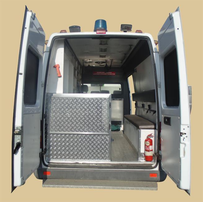 Ambulansların Cenaze Nakil Aracına Dönüştürülmesi 6