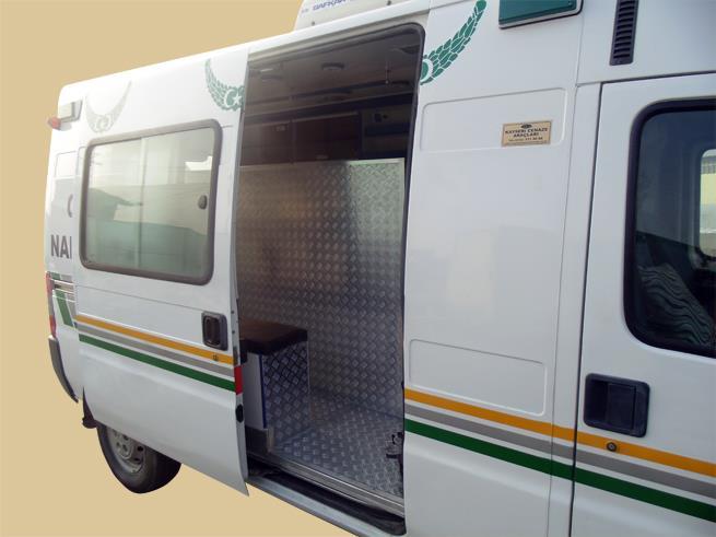 Ambulansların Cenaze Nakil Aracına Dönüştürülmesi 8