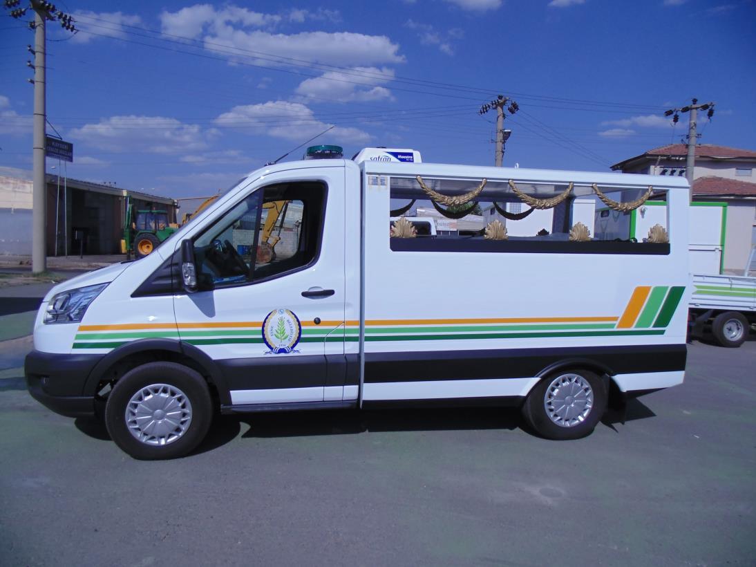 Eşme Belediyesi Cenaze Nakil Aracı