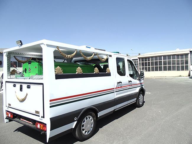 İspir Belediyesi Cenaze Nakil Aracı